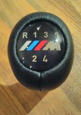 BMW M Power M Sport 5 Speed Manual Gear Knob Stick Genuine Leather BNIB