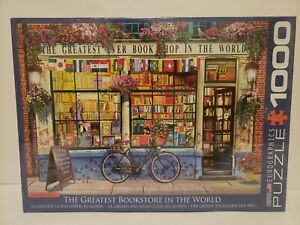 EuroGraphics - THE GREATEST BOOKSTORE IN THE WORLD 1000 Piece Puzzle