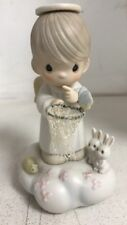 "Precious Moments Figurines ""Im So Glad You Fluttered into My Life"" 1988"