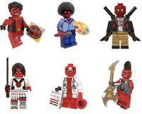 Deadpool Marvel Avengers Heroes Comic Building Blocks Toys For Children New 2020