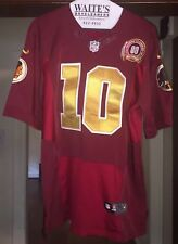 ROBERT GRIFFIN III-MENS NIKE TEAM TRADITION ON FIELD SEWN JERSEY SZ 40-VG RARE