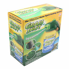 As Seen on TV - Grass Shot The Ultimate Home Hydro Seeding System!
