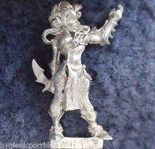 1999 Dark Elf Witch 1 Citadel Elven Army Drow Warrior Warhammer Priestess Khaine