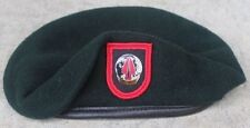 Authentic New 1SFOD-D, CAG DELTA Force SINE PARI Green Beret US Government Issue