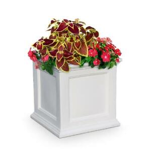 Mayne Fairfield Patio Planter 20X20 White