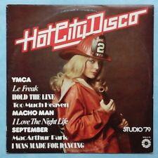 STUDIO '79 ~ HOT CITY DISCO ~ 1979 US 9-TRACK LP RECORD ~ SPRINGBOARD SPB-4115