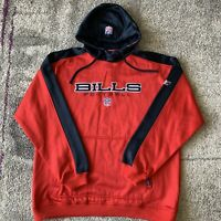 NWT Reebok NFL Buffalo Bills Football Sweater Jacket Mens XL