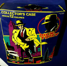 Vintage 1990 Dick Tracy Collector's Case (Holds 12 Figures) Playmates-New