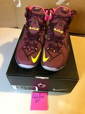 100% authentic 32950 cca73 Nike Air Max LeBron XII 12 Helix Sz 14 VNDS Basketball Sportswear Training