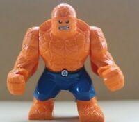 "Marvel Super Heroes Ben Grimm Thing Fantastic 4, 3.5"" Figure Fit lego Avengers A"