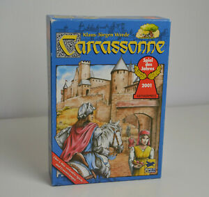 Carcassonne Grundspiel - komplett - Spiel des Jahres 2001
