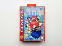Sega Genesis Panorama Cotton NTSC Game / Case SHMUP Shooter (USA SELLER)