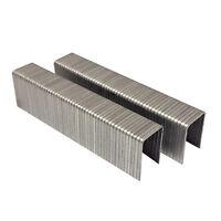 "T50 20 Ga. 5/8"" Lx3/8"" Crown Galvanized Fine Wire Steel Staples 1000/PK AT50-16"