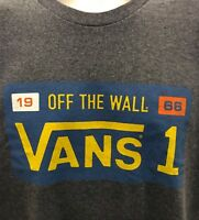 MENS VANS GOLDEN STATE LICENSE ADULT TEE LARGE NWT