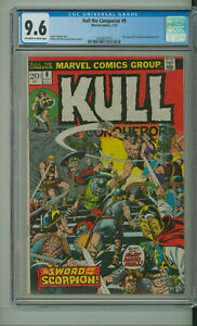 KULL THE CONQUEROR 9 CGC 9.6 Amazing Spider-Man 122 full pg advert. MARVEL 1973