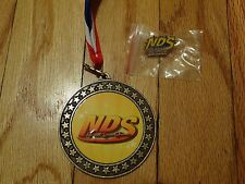 NATIONAL DANCE SHOWCASE NDS TALENT COMPETITION MEDAL AWARD RIBBON & PLATINUM PIN