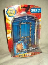 Doctor Who Action Figure  Series 2 Destroyed Lady Cassandra 6 inch
