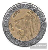 Algerien KM-Nr. : 125 2004 sehr schön Bimetall 2004 20 Dinars Löwe