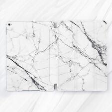 White Black Marble Aesthetic Case For iPad 10.2 Air 3 Pro 9.7 10.5 12.9 Mini 4 5