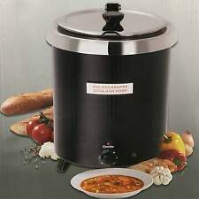Gulasch Suppen Topf Koch-Topf elektrischer Suppenwärmer Bartscher Topf 100067