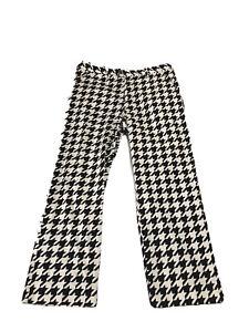 Men's Loud Mouth Golf Pants Black White Size 36x30