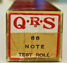 More details for qrs pianola 88 note test roll