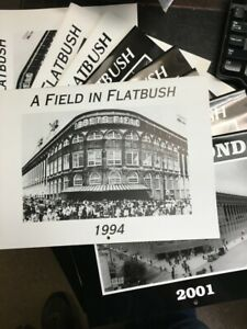 "EBBETS FIELD CALENDARS / COMPLETE SET 1994-2001 ""A FIELD IN FLATBUSH"""