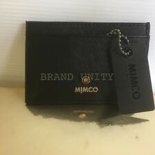 Mimco Phenomena Card Case Wallet Brand New with tags Black