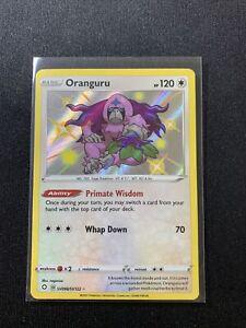 Pokémon TCG Oranguru SV098/SV122 Shiny Holo Rare Shining Fates