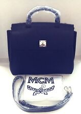 MCM Large Convertible Satchel Bag, Black