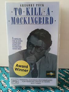 To Kill a Mockingbird VHS Gregory Peck American Classic VGC Free Postage