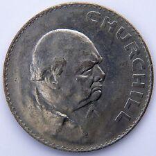 1965 CORONA-Winston Churchill Corona Moneta