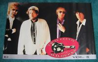 "TRAVELING WILBURYS Vol 3 1990 US Promo Poster 23"" x 35"" Dylan Harrison Petty"