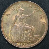 1927 | George V Farthing | Coins | KM Coins