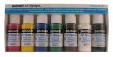 Badger Air-Brush Company Air-Opaque Airbrush Ready Water Based Acrylic Paint, Pr