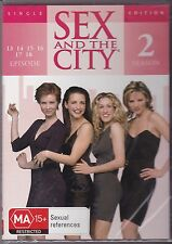 SEX AND THE CITY -  2ND SEASON - EPISODES 13, 14, 15, 16, 17, & 18 - DVD