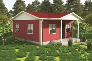 Modular Building, Sectional House, Prefab, Kit Home, Ideal Self Build - 45 sqm
