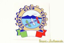 "Dekor Aufkleber ""Vespa Club Vesuvio"" - Italien Italy Italia Vesuv Napoli Sticker"