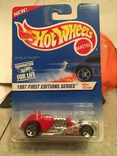 Hot Wheels 1997 First Editions Saltflat Racer 4/12