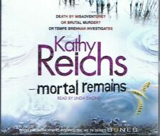 AUDIOBOOK - Mortal Remains (Temperance Brennan #13) KATHY REICHS (5 x CD 2010)