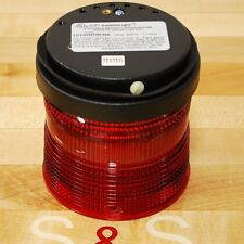 Edwards 101SINHR-N5 Stackable Beacon Steady-On Halogen Red Light - NEW