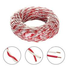 40-ft 18-AWG Red and White Twisted Double Stranded Doorbell Wire