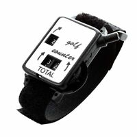 1X(Golf Club Stroke Score Keeper Count Putt Shot Counter Watch w/ Wristband T1R4