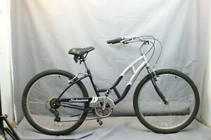 2006 Schwinn Jaguar Cruiser Bike Small 40cm 7 Spd Shimano V-Brakes USA Charity!