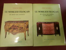 Kjellberg Le mobilier français du Moyen-Age louis XV à l'art déco 2 volumes