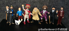 9pcs THE ADVENTURES OF TINTIN mini figure toy 2""