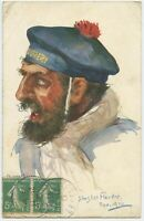 In Flanders 1914 French Military Personnel Patriotic WW1 Postcard (2209)