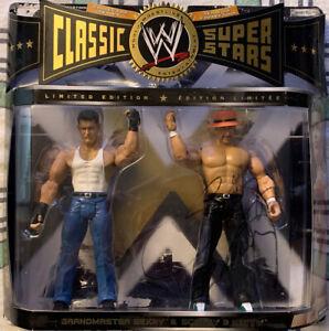 WWE Classic Superstars Too Cool Grandmaster Sexay & Scotty 2 Hotty Signed Jakks