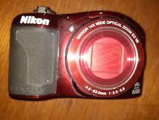 Nikon COOLPIX L610 16.0MP Digital Camera - Red