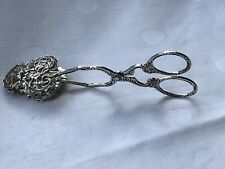 Schöne Gebäck-Zange aus 800er Silber, Christoph Widmann
